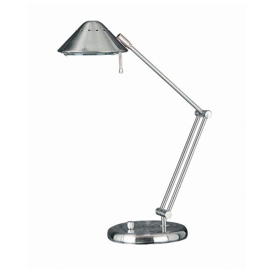 Lite Source 26-in Adjustable Steel-Painted Contemporary/Modern Standard Desk Lamp with Metal Shade