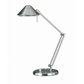 Lite Source 26 In Adjule Steel Painted Desk Lamp With Metal Shade