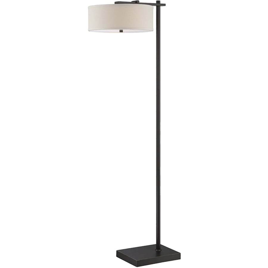 Shop lite source primavera 65 in dark bronze floor lamp with fabric lite source primavera 65 in dark bronze floor lamp with fabric shade aloadofball Gallery