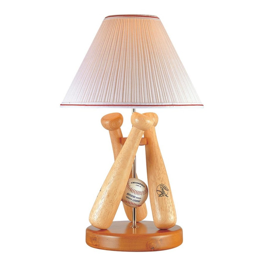 lite source triple baseball lamp natural type a 100w - Baseball Lamp