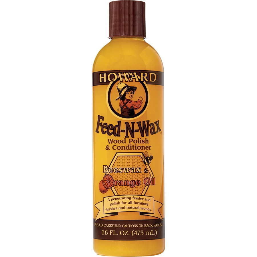 Shop howard wood furniture wax 16 oz wood conditioner at for Furniture wax