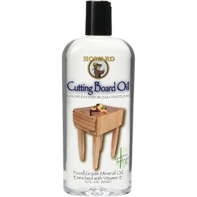 Howard Clear Cutting Board Wood Oil (Actual Net Contents: 12