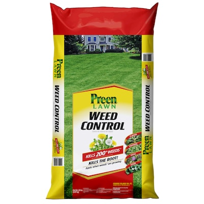 Preen 20-lb Lawn Weed Killer at Lowes com