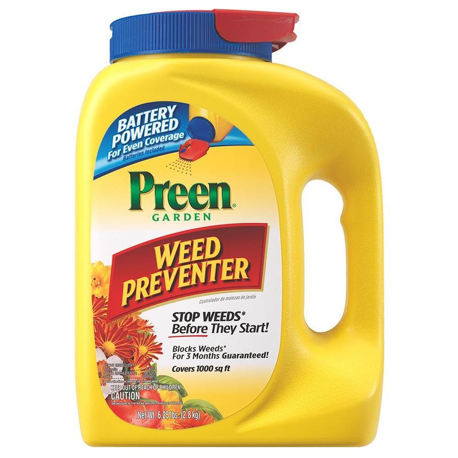 Preen 6.25-lb Garden Weed Preventer Battery Spreader