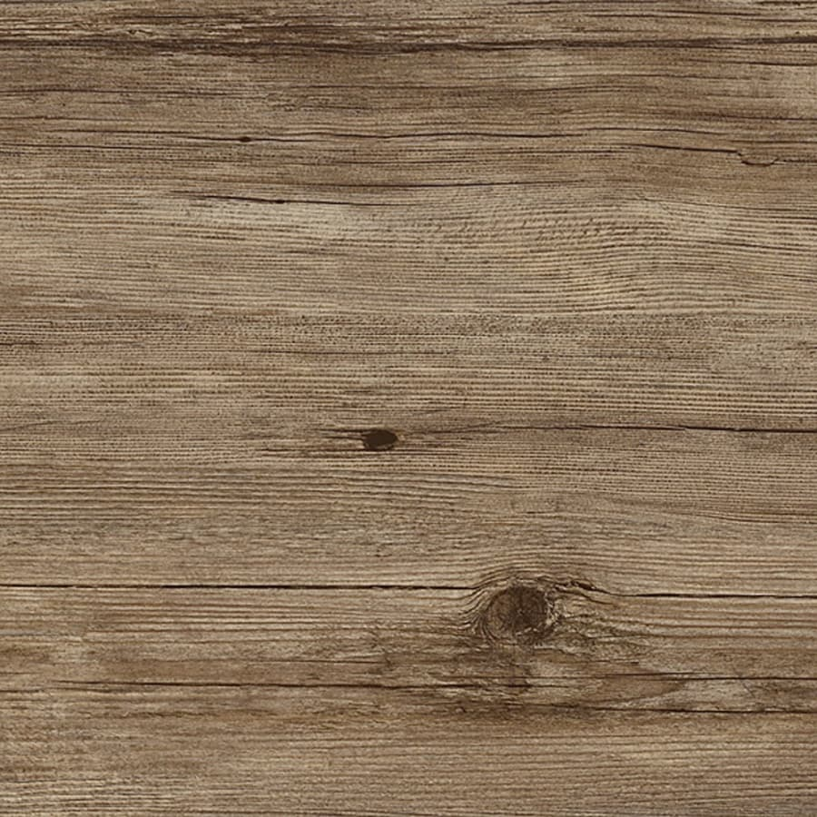 Congoleum Structure 15-Piece 7.25-in x 48-in Weathered Cabin Peel-and-Stick Pine Luxury Commercial/Residential Vinyl Plank