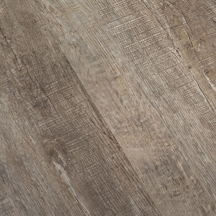 Congoleum Barn 12-Piece 9-in x 48-in Coyote Glue Luxury Commercial/Residential Vinyl Plank