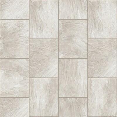 Congoleum Durastone Clean Slate 10 Piece 16 In X