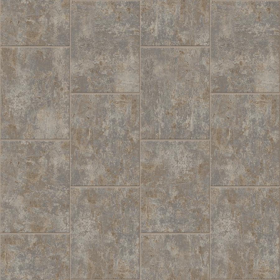 Congoleum DuraStone Chrysalis 10-Piece 16-in x 16-in Groutable Rain Dance Adhesive Stone Vinyl Tile