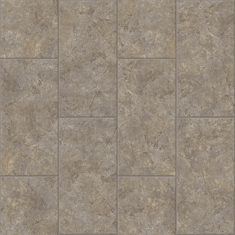 Congoleum Lvt 12X24 10-Piece 12-in x 24-in Groutable Graytint Glue Granite Luxury Residential Vinyl Tile