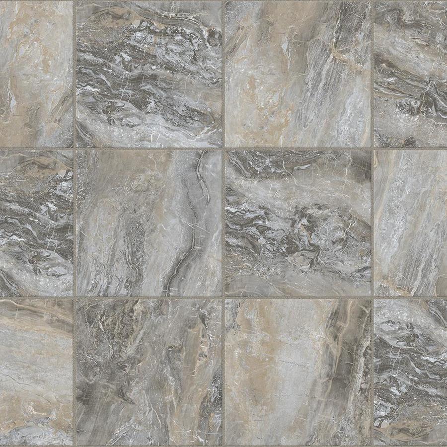 Congoleum Durastone Riverbed 10 Piece 16 In X