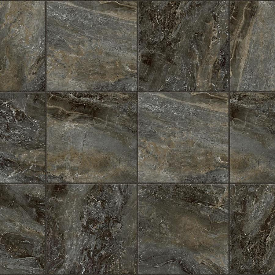 Groutable vinyl tile marble kitchen flooring groutable for Small vinyl floor tiles