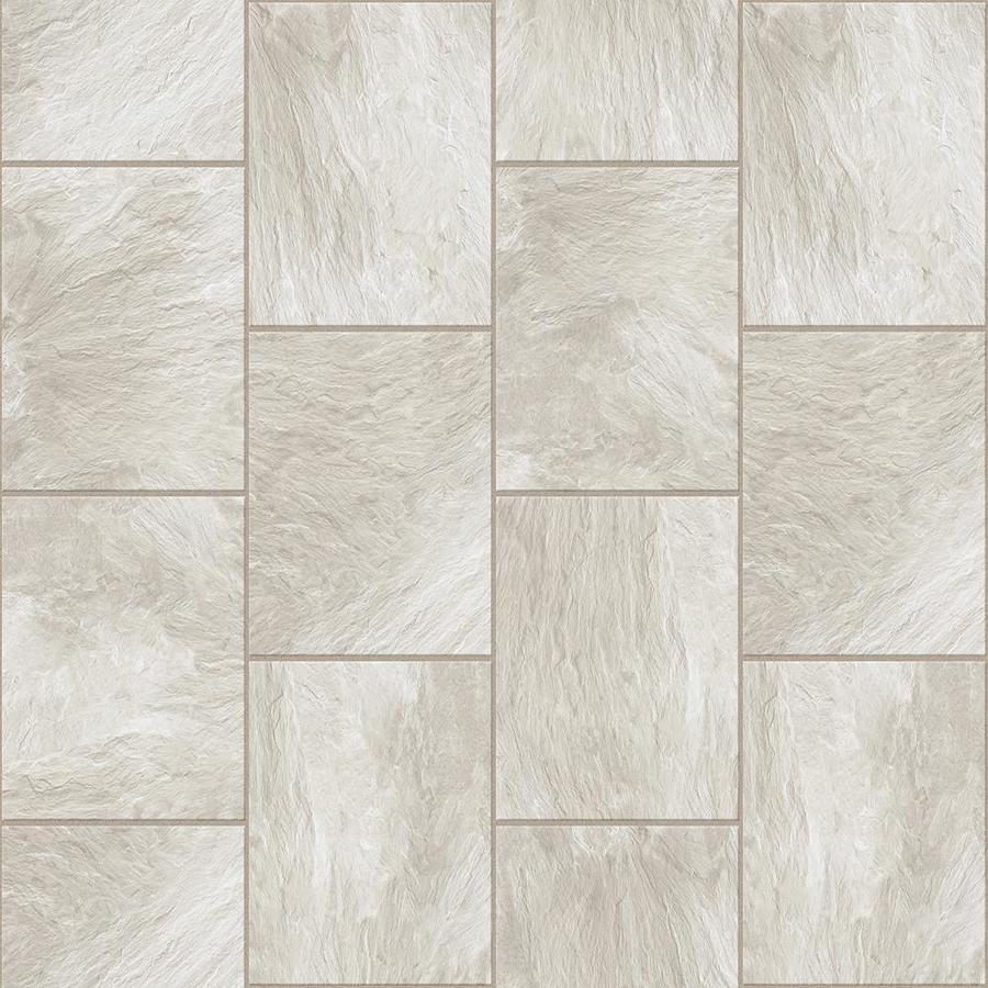Congoleum Durastone Clean Slate Fresh Start Vinyl Tile Sample