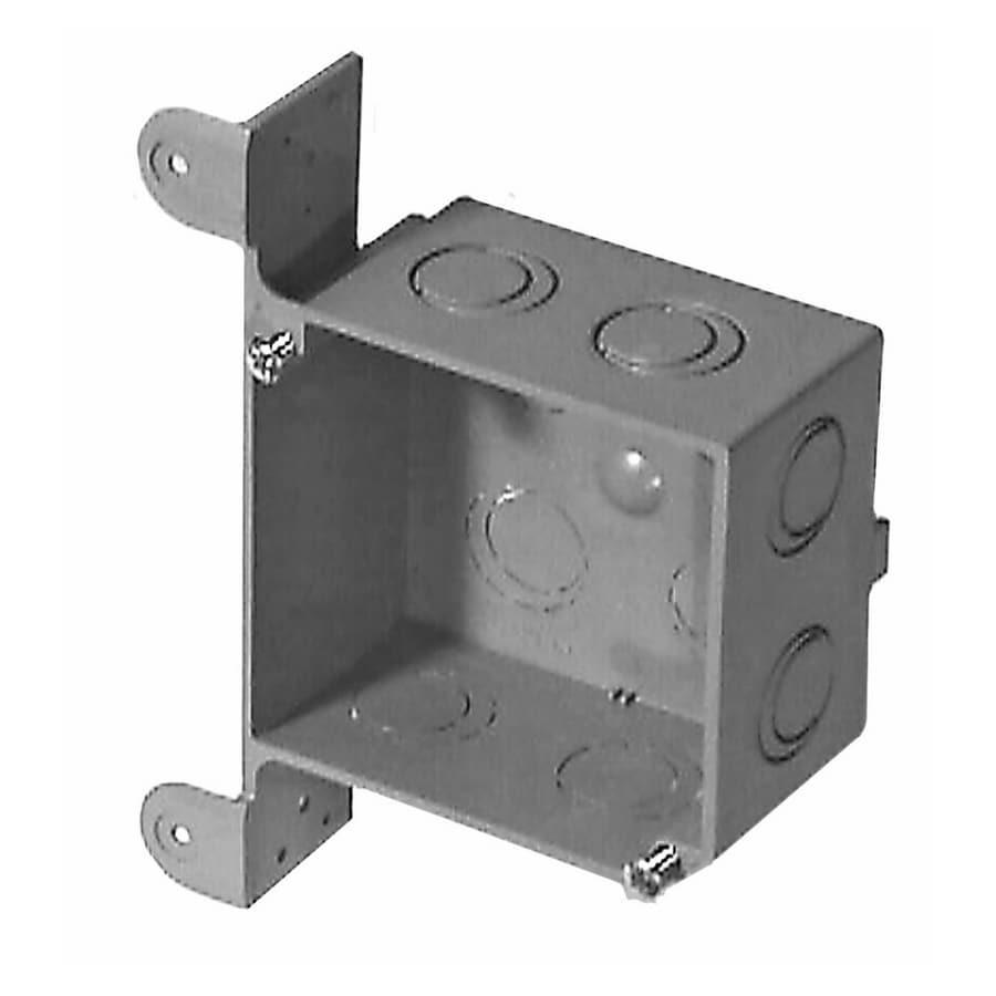 CANTEX 31-cu in 1-Gang Plastic New Work Wall Electrical Box