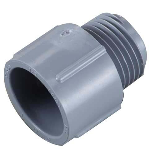 Carlon 174 1 1 4 Quot Pvc Terminal Adapter At Lowes Com