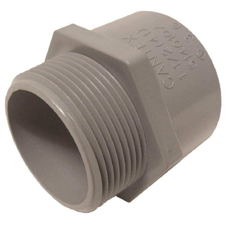 CANTEX 1-Pack 1-1/2-in Schedule 40 PVC Adaptor