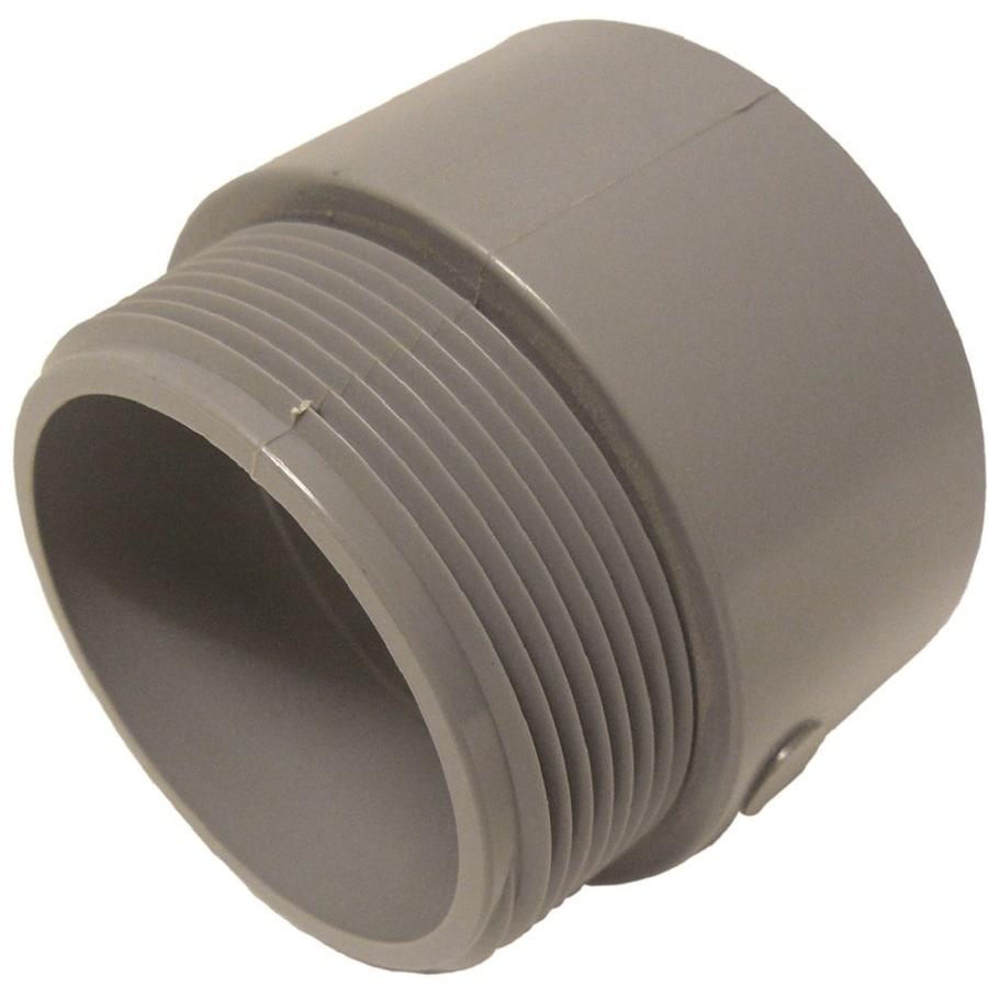 CANTEX 1-Pack 3-in Schedule 40 PVC Adaptor