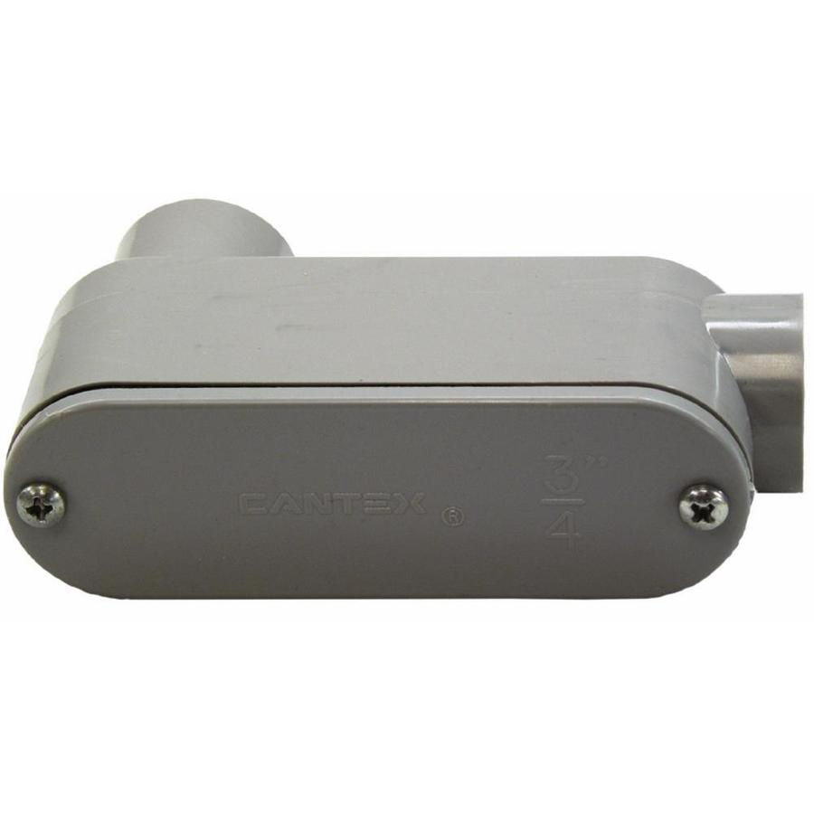 CANTEX 1-Pack 1-in PVC Conduit body