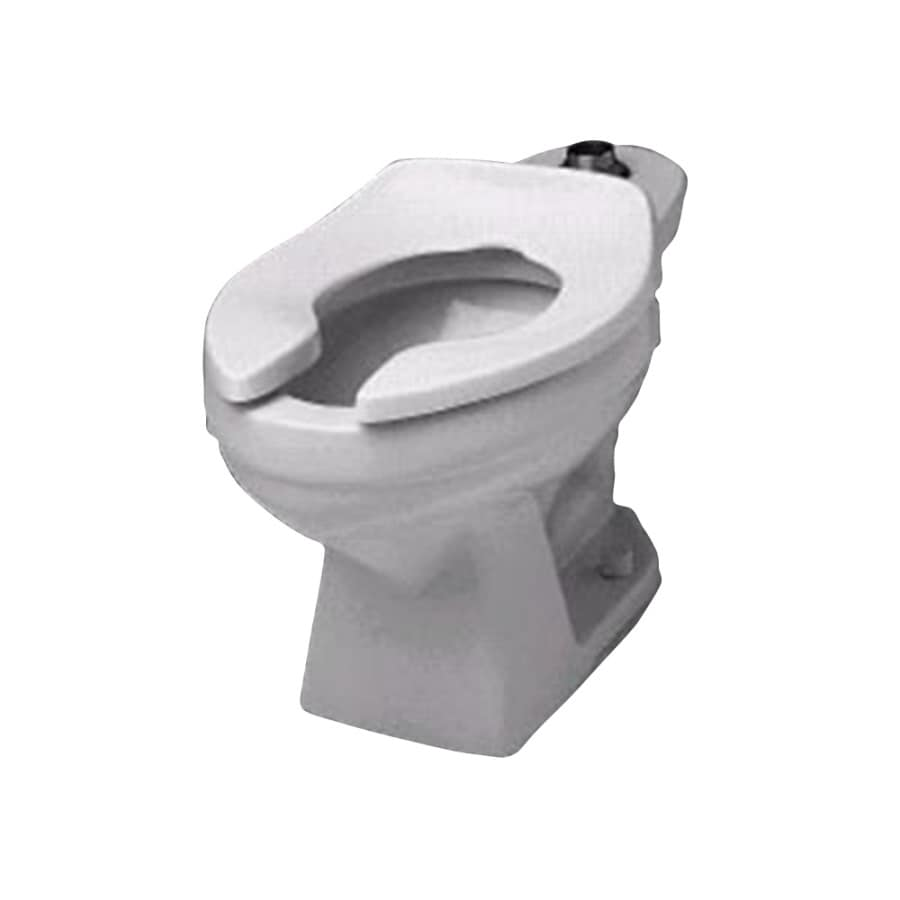 Crane Plumbing Santon Jr. White Elongated Toilet Bowl