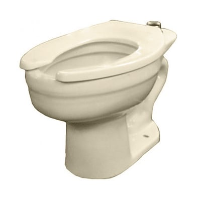 Surprising Crane Whirlton Bone Elongated Toilet Bowl At Lowes Com Beatyapartments Chair Design Images Beatyapartmentscom