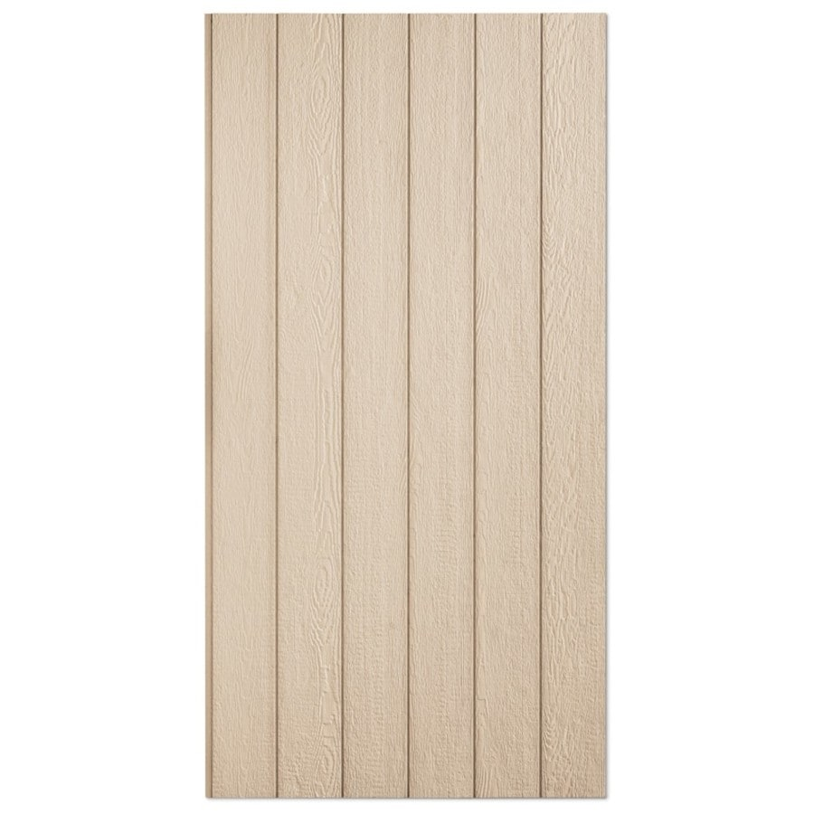 SmartSide 76 Series Primed Engineered Treated Wood Siding Panel (Common: 0.375-in x 48-in x 96-in; Actual: 0.4375-in x 48.563-in x 95.875-in)