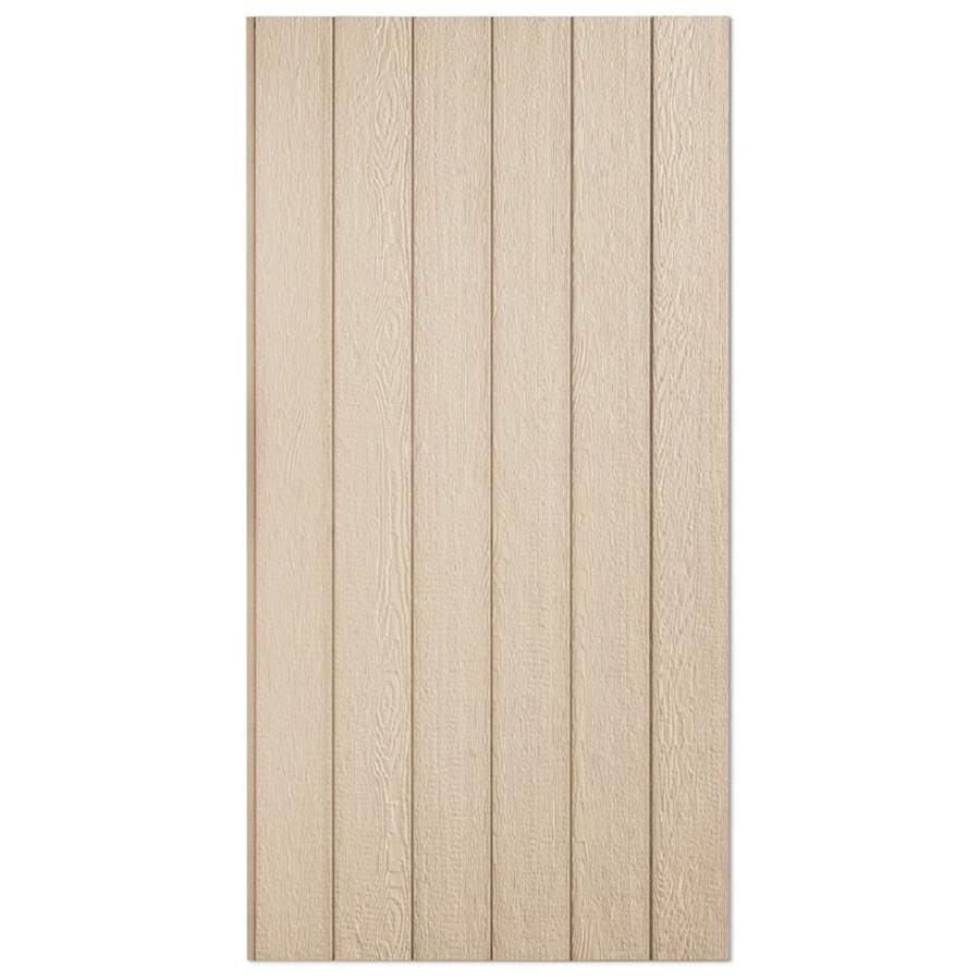 SmartSide 76 Series Primed Engineered Treated Wood Siding Panel (Common: 0.375-in x 48-in x 108-in; Actual: 0.4375-in x 48.563-in x 107.875-in)