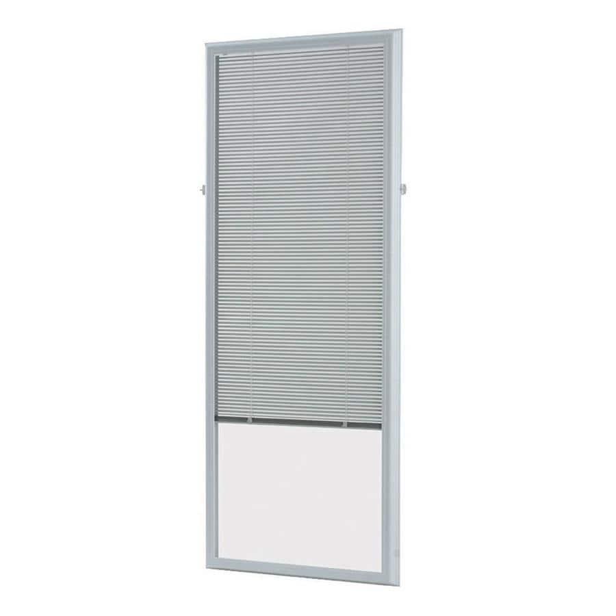 ODL 66-in L White Aluminum 0.59-in Slat Light Filtering Cordless Mini-Window Blinds