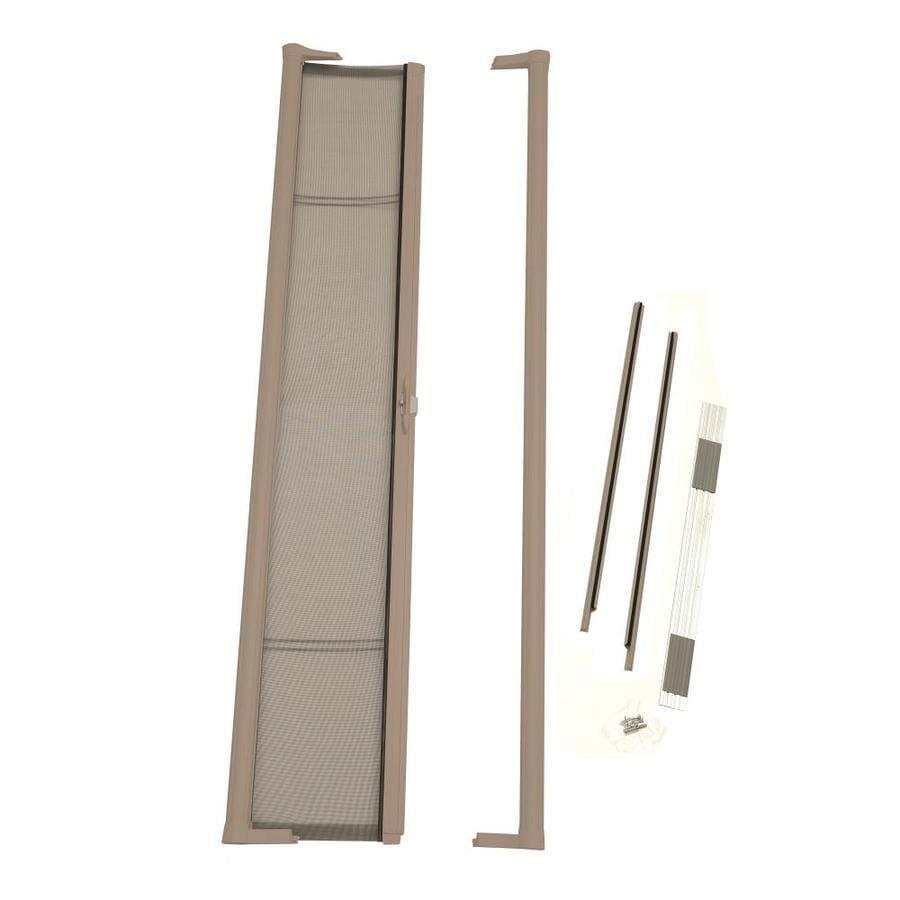 ODL ODL Brisa Retractable Screen Sandstone Aluminum Retractable Screen Door (Common: 36.0x 78.0; Actual: 36.0 x 78.0)