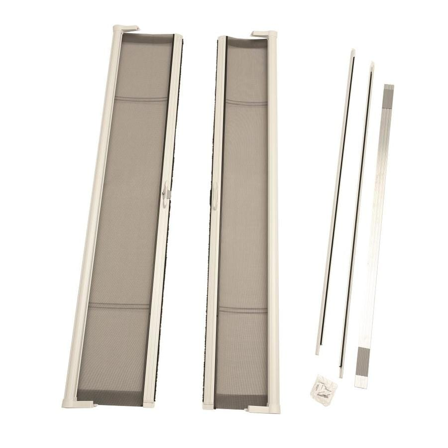 ODL ODL Brisa Retractable Screen White Aluminum Retractable Screen Door (Common: 79.0x 78.0; Actual: 79.0 x 78.0)