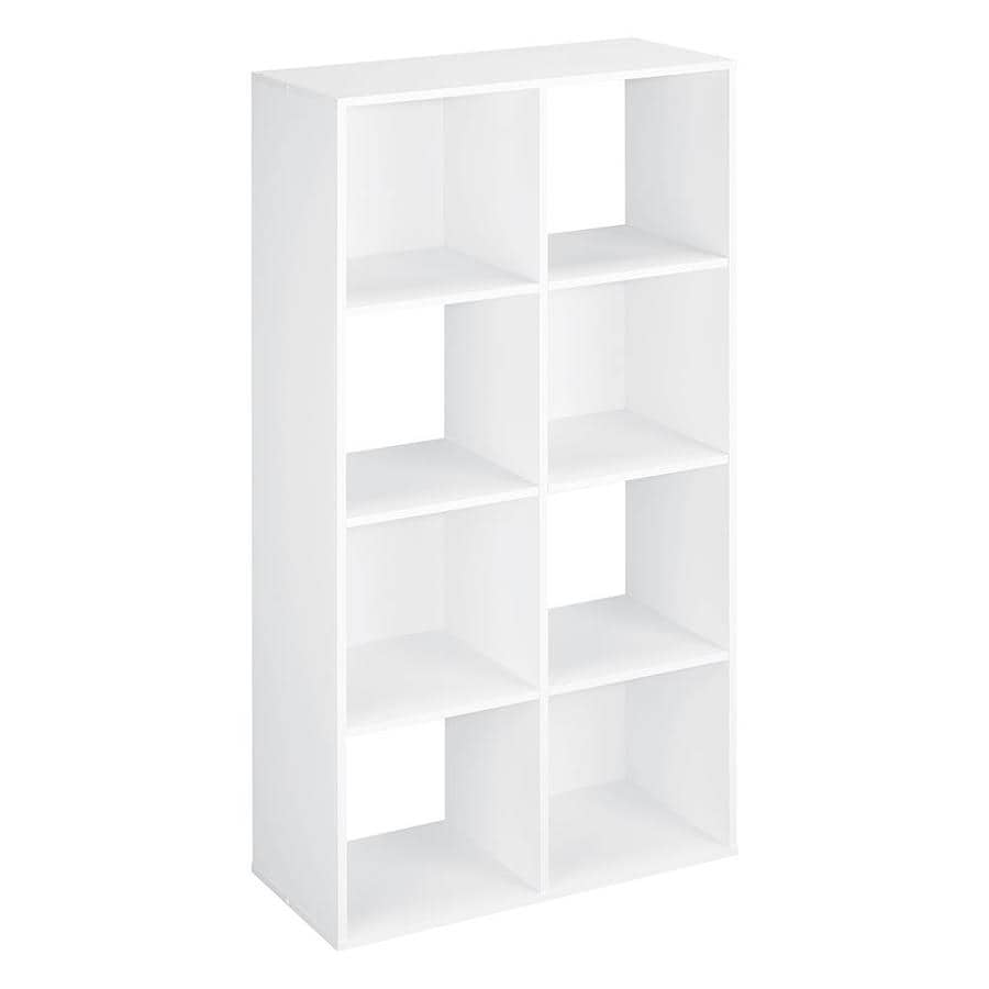 ClosetMaid 8 White Laminate Storage Cubes