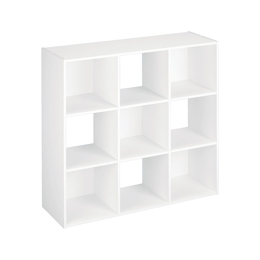 Shop ClosetMaid 9 White Laminate Storage Cubes at Lowes.com