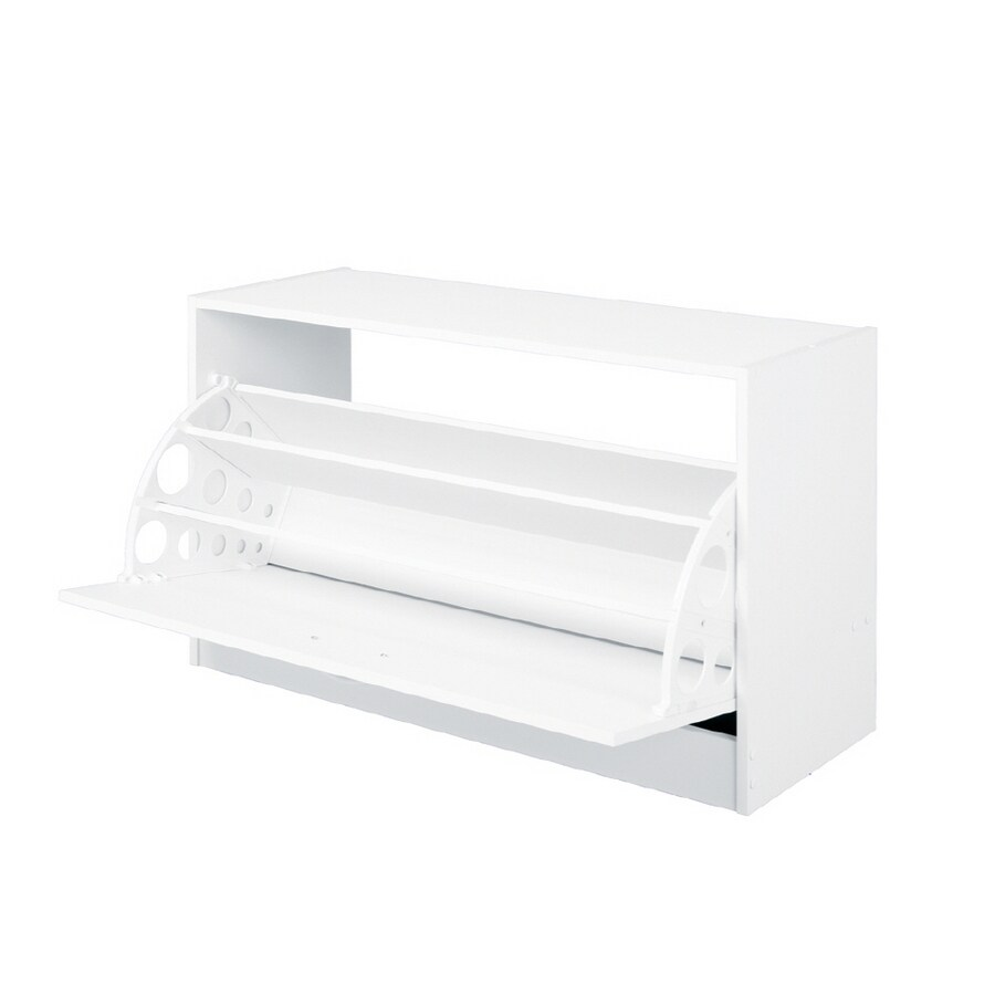 ClosetMaid White Stackable Shoe Cabinet