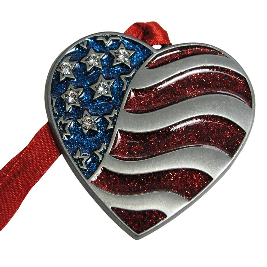 Gloria Duchin Heart Flag