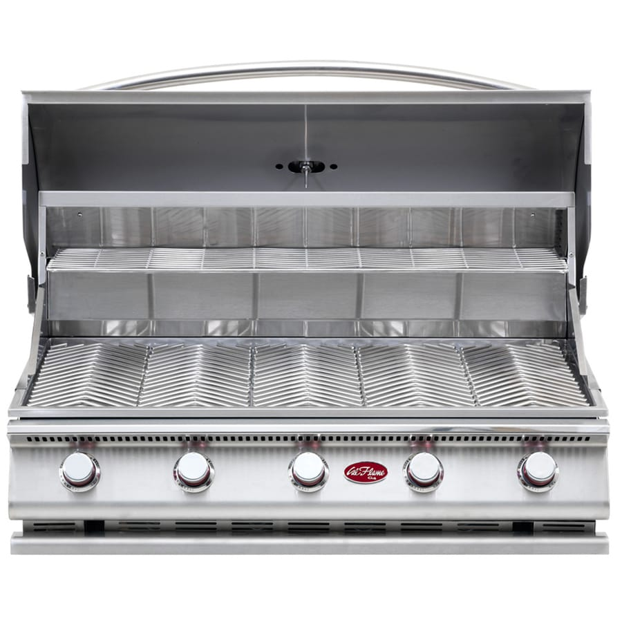 Cal Flame 5-Burner Built-In Liquid Propane and Natural Gas Grill