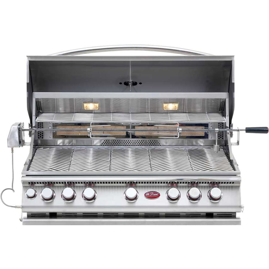 Cal Flame 5-Burner Built-In Liquid Propane and Natural Gas Infrared Grill