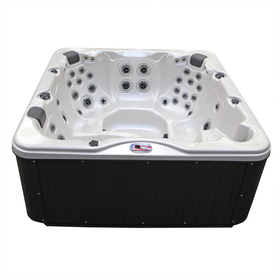 Shop American Spas 6-Person Square Hot Tub at Lowes.com