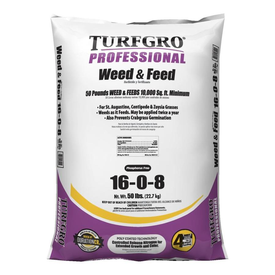 Turf Gro 10,000-sq ft Professional Weed and Feed Organic or Natural Lawn Fertilizer (16-0-8)