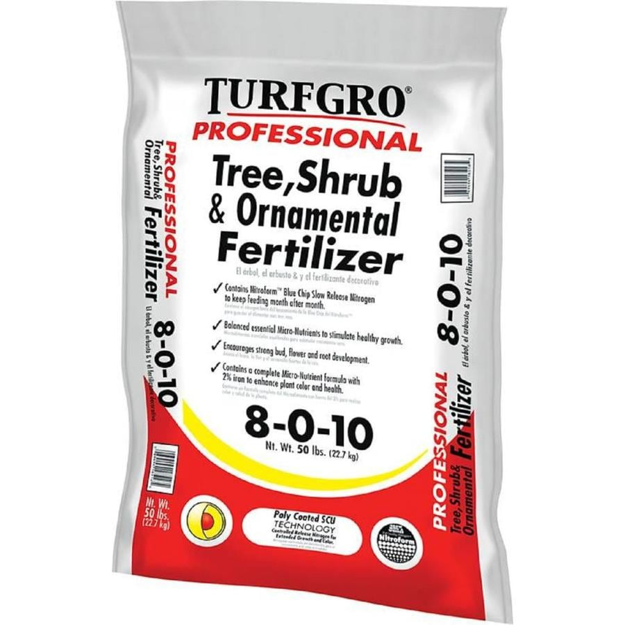 Turf Gro Professional 50-lb Organic/Natural Tree and Shrub Food (8-0-10)