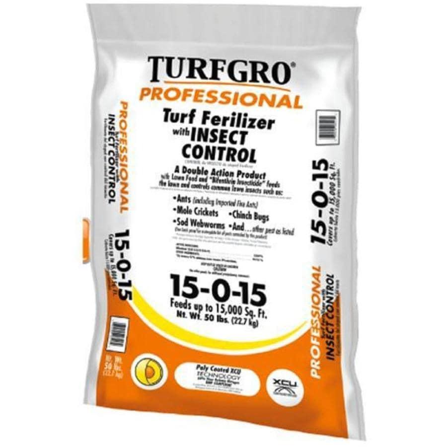Turf Gro 15,000-sq ft Professional Organic or Natural Lawn Fertilizer (15-0-15)