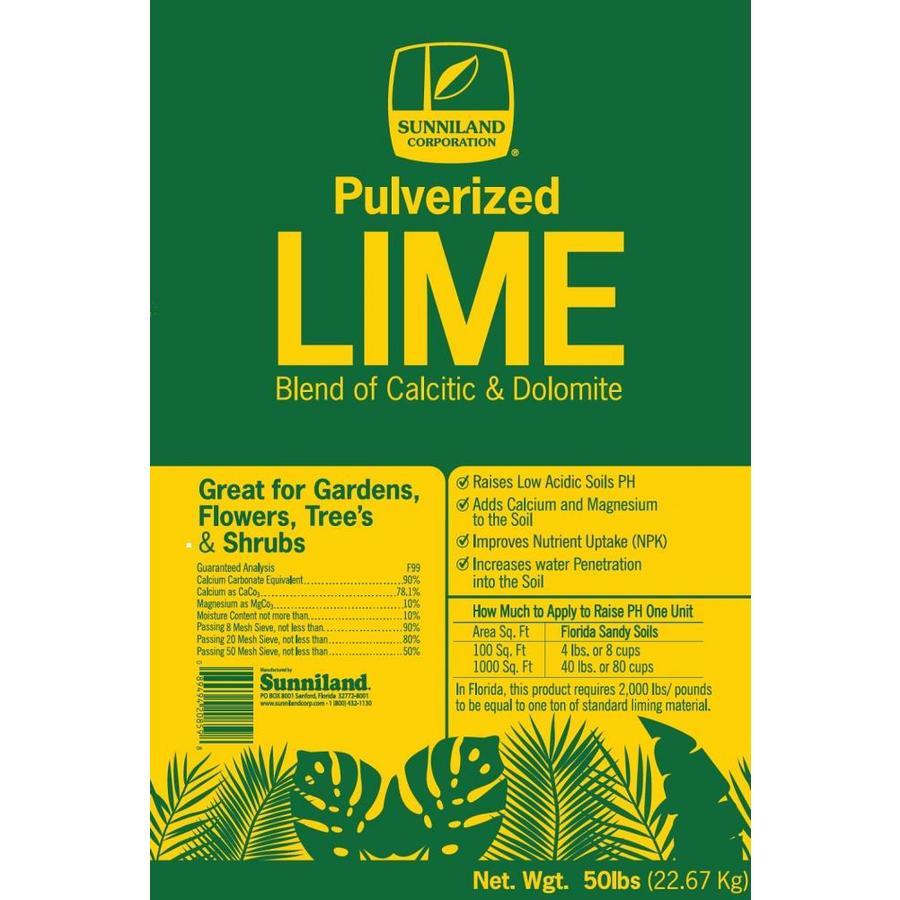 Sunniland 50-lb Lime