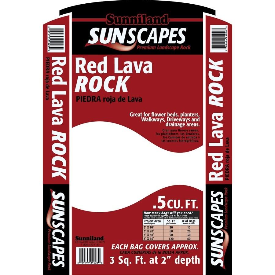 Sunniland 0.5-cu ft Lava Rock