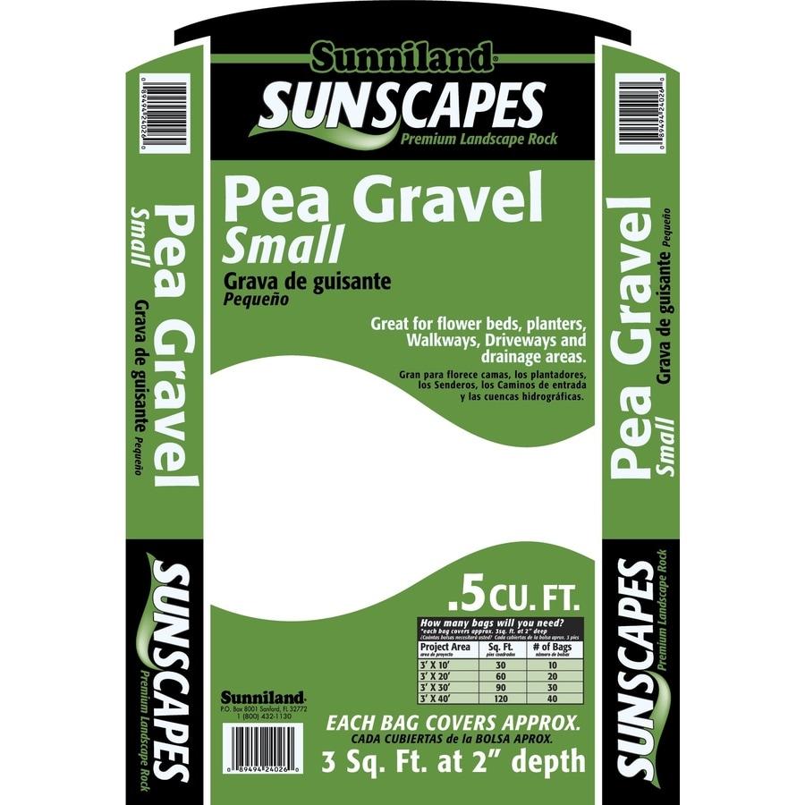 Sunniland 0.5-cu ft Pea Gravel