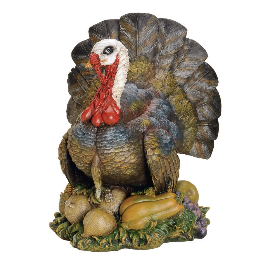 Joseph's Studio Thanksgiving Resin Turkey Figure