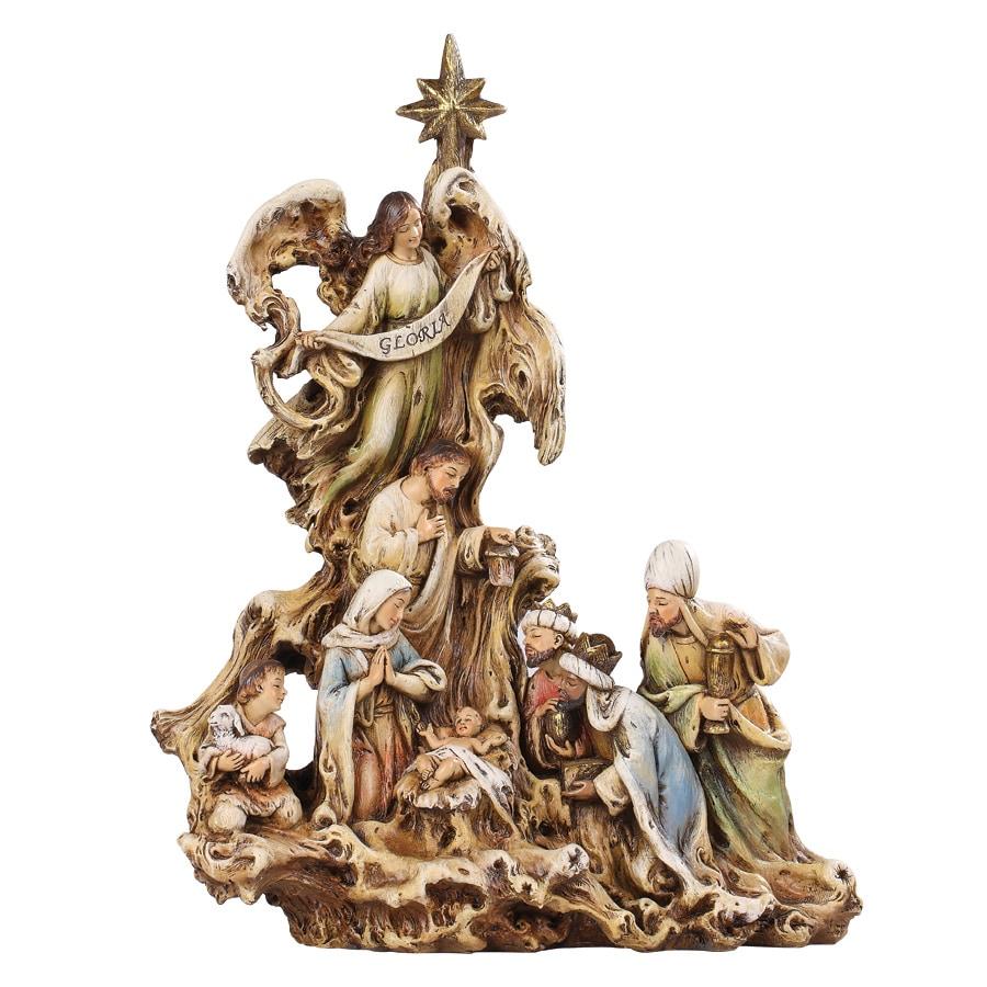 Joseph's Studio Christmas Resin Carved Nativity Figure