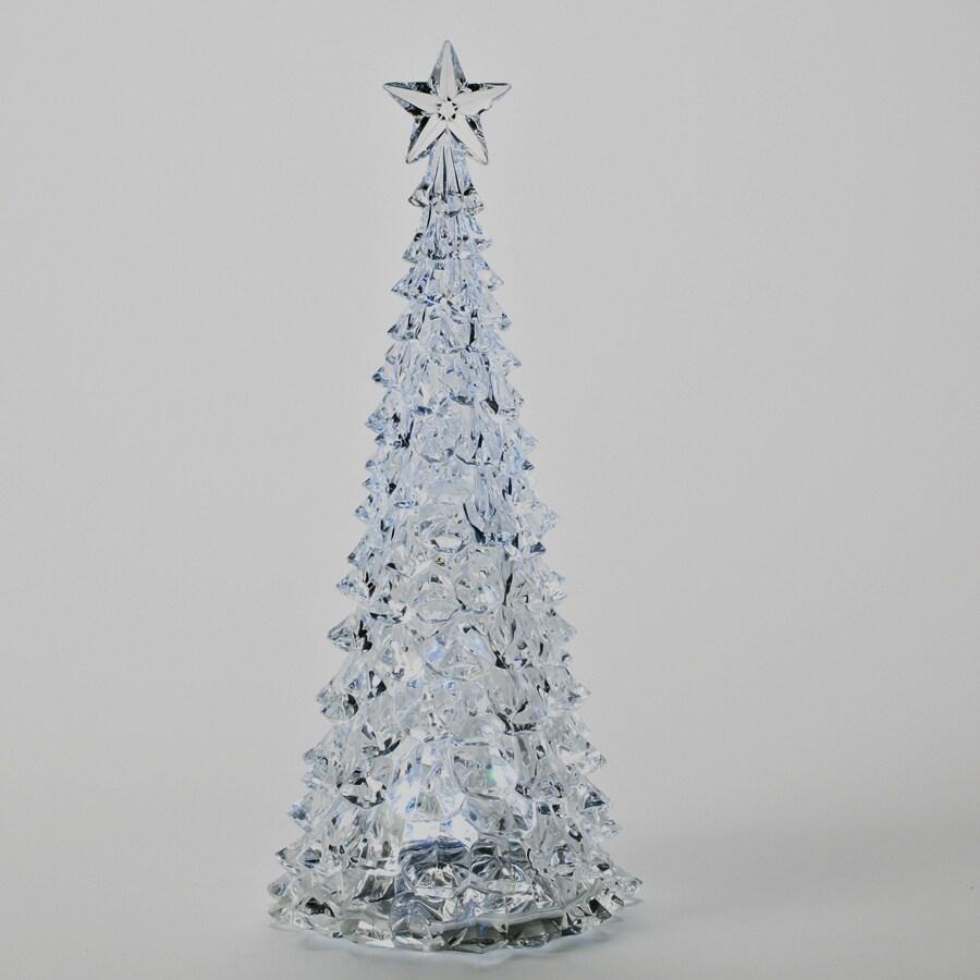 Roman Christmas Plastic Lighted Tree Figure