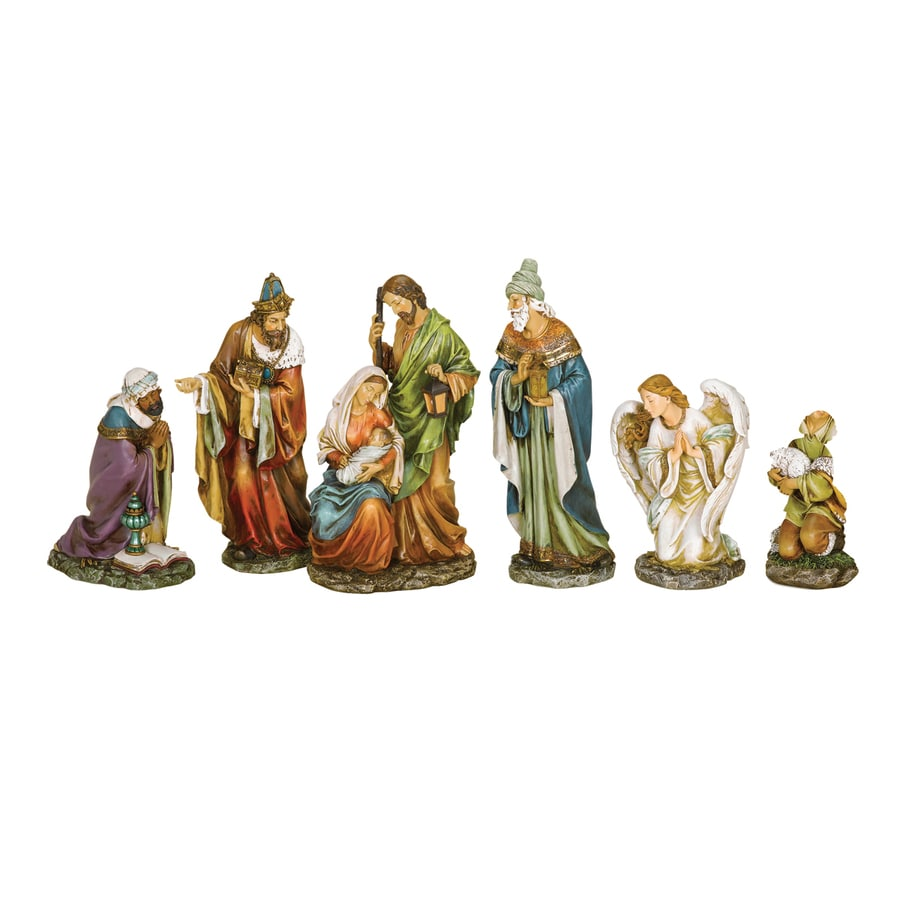 Roman 6-Pack Resin Christmas Collectibles