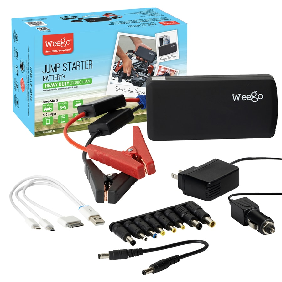 Weego 400-Amp Car Battery Jump Starter