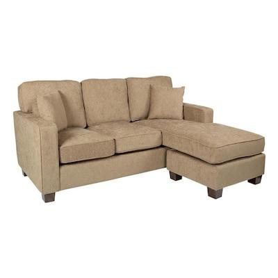 Strange Osp Home Furnishings Russell Modern Ivory Sectional At Lowes Com Short Links Chair Design For Home Short Linksinfo