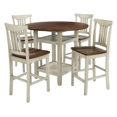 OSP Home Furnishings Berkley 5pc Set- Table Chairs in ...
