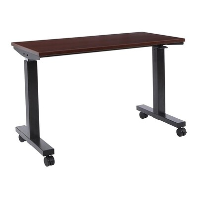 Fine Pro Line Ii Modern Contemporary Black Adjustable Desk At Creativecarmelina Interior Chair Design Creativecarmelinacom