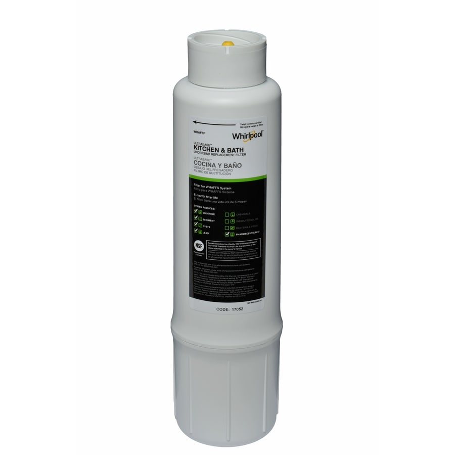 Whirlpool Replacement Filter Whirlpool Water Filtration System: Whaffs Under Sink Complete Filtration System